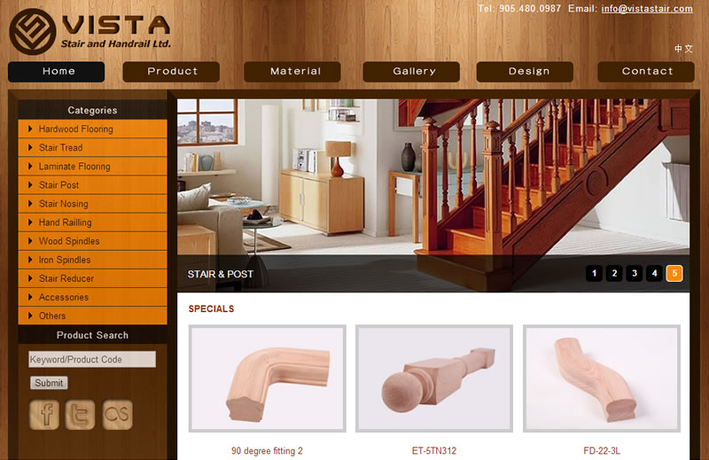 Vista Stair and Handrail Ltd.